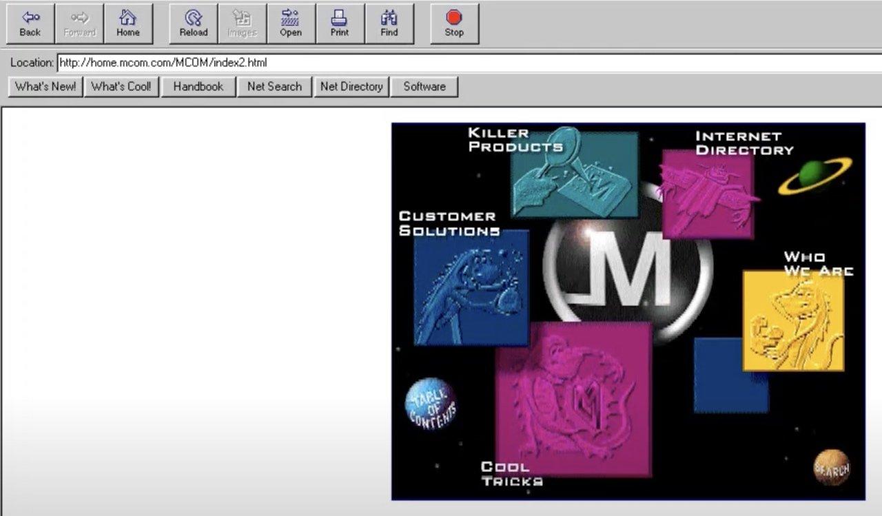Netscape 1995